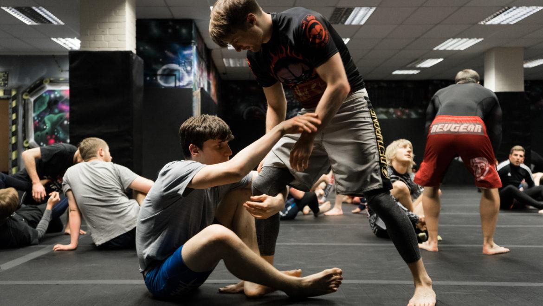 Practising BJJ Techniques | MMA Liverpool | Next Generation