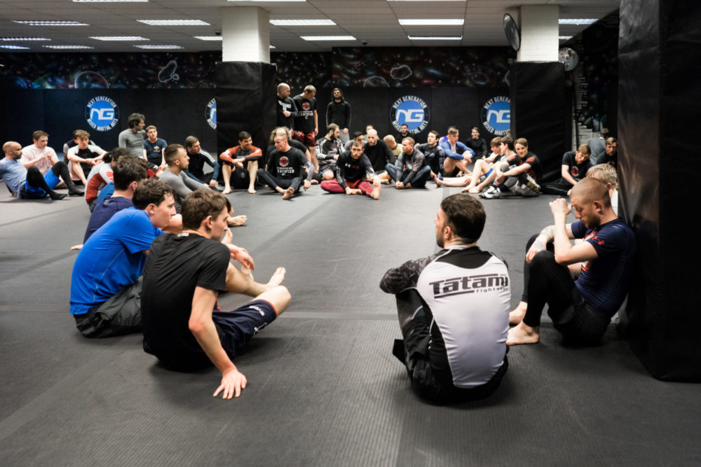 Before BJJ Class | MMA Liverpool | Next Generation